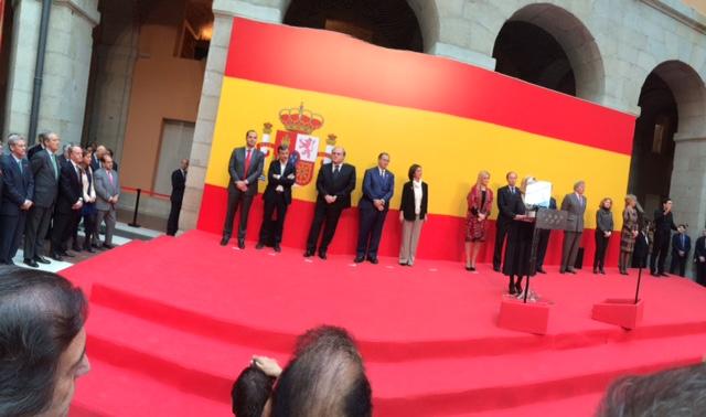 Invitación de la Presidenta de la Comunidad de Madrid a Alcón Abogados en la celebración del día de la Constitución