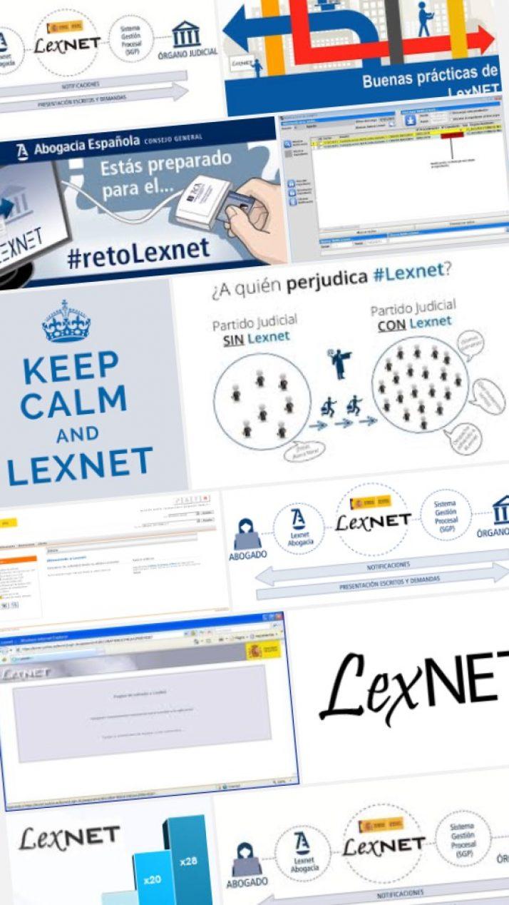 """LEXNET. EL RETO DE LAS NUEVAS TECNOLOGIAS y DEL PAPEL CERO, PERO """"SIN MEDIOS"""""""