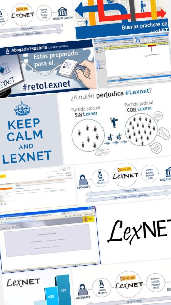 """LexNET. El reto de las nuevas tecnologías y del papel cero, pero """"sin medios"""""""